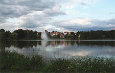 Der Burgsee in Bad Salzungen